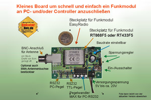 RN-Funk – Funkmodul nach RS232 Adapter